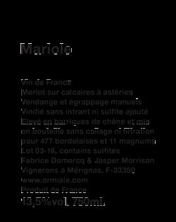 Mariole
