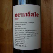 Étiquette 2007